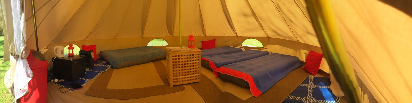 Bell Tent internal pic