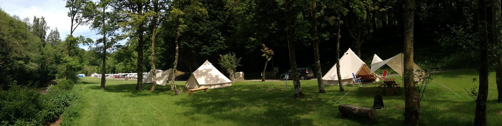 Bell Tent Side view